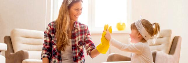 Je nettoie ma maison sans produits toxiques