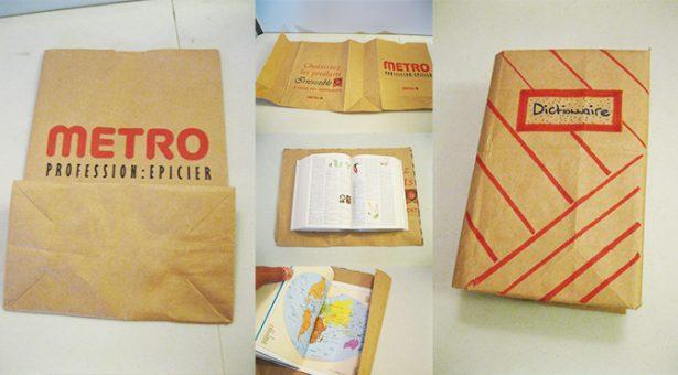 sacs en papier, réutiliser sachets papier
