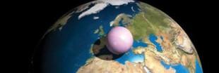 5 mille milliards de tonnes d'air dans une boule