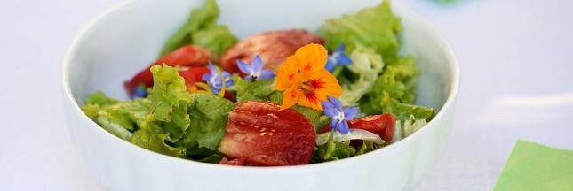 Cuisinez les fleurs comestibles