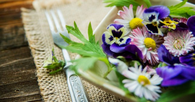 Profitez du printemps pour mettre les fleurs comestibles dans votre assiette