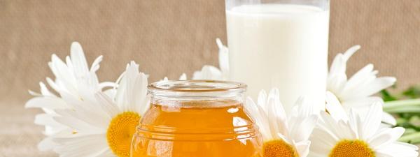 lotion lait miel camomille