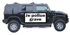 4x4 pollue grave