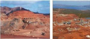 Mines de Nickel de Nouvelle Calédonie (goro)