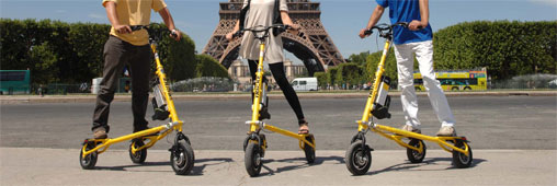 Le Trikke : la trottinette de demain ?