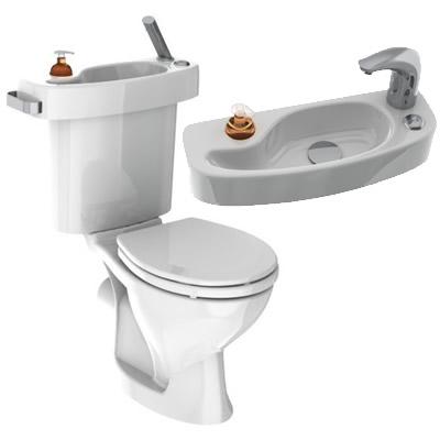 Economie d 39 eau vos toilettes avec lavabo int gr page 3 - Wc avec lavabo integre leroy merlin ...