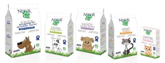 Souvent Animaux : des croquettes bio pour chiens et chats PZ99