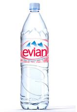 bouteille eau evian