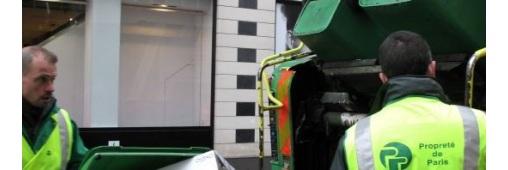 Le 1er centre de tri de déchets dans Paris