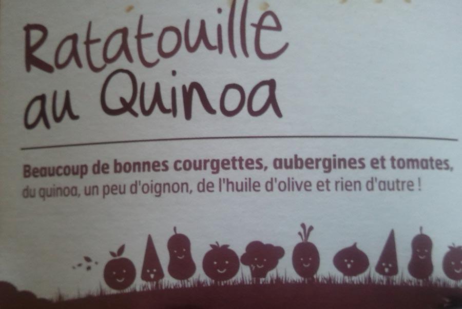 ratatouile au quinoa