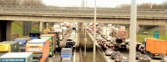 Les embouteillages en France