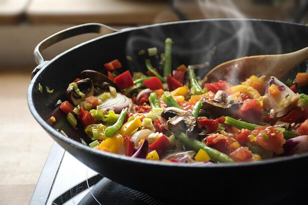 wok cuisson saine cuisson écologique