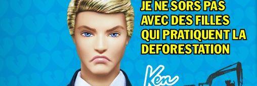 Le divorce de Ken et Barbie, coup dur pour la déforestation!