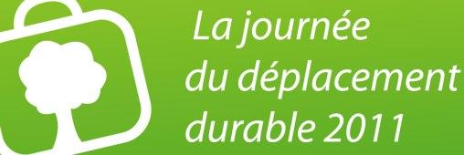 """Je participe à la Journée du """"Déplacement durable"""""""