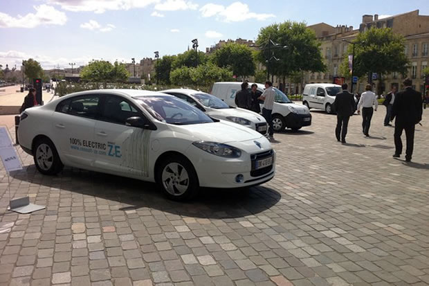 Renault ZE tour