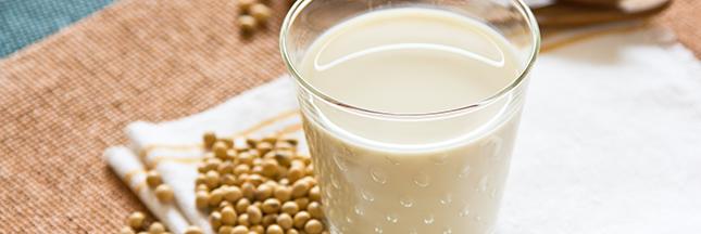 Le lait de soja, la boisson préférée des végétariens