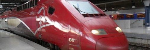 Un tunnel solaire pour les TGV