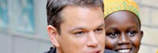 Matt Damon, son combat pour l'eau
