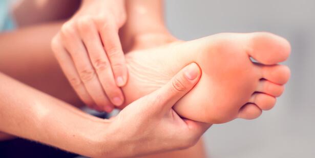 massage pieds sommeil