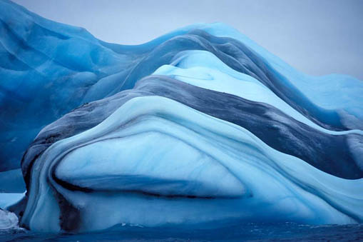 iceberg strates couleurs