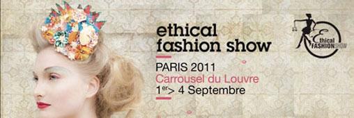 Ethical Fashion Show : l'événement mode éthique