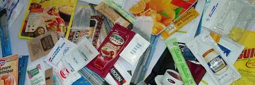 Je choisis les produits avec peu d'emballage lorsque je fais mes courses