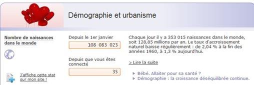 Démographie : 7 milliards, et moi et moi