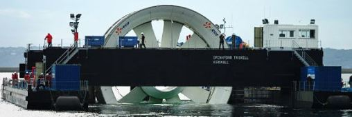 GDF Suez lance des hydroliennes en Normandie et en Bretagne