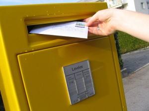 courrier la poste