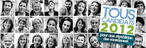 Tous candidats 2012 : l'engagement citoyen