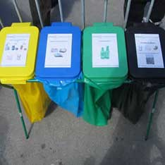 poubelles tri select