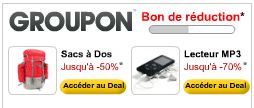 promotion locale groupon