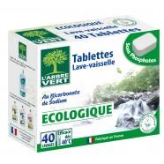 40 Tablettes écologique lave vaisselle - Arbre Vert