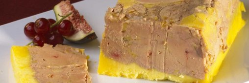 Zoom produit de fête : le foie gras