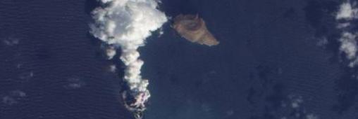 Une nouvelle île vient de voir le jour en mer Rouge !