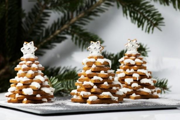 déco de table, Noël, biscuits, sapin, idées déco