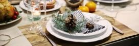 Noël Vert. Une déco de table écolo!