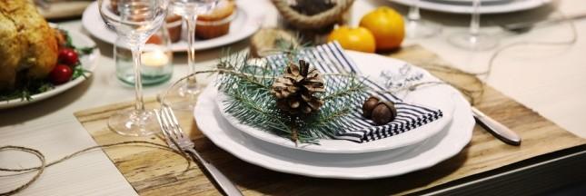 Noël Vert. Une déco de table écolo !