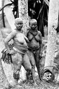 Photo des indigènes