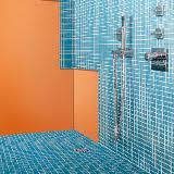 Une plaque spéciale pour douches