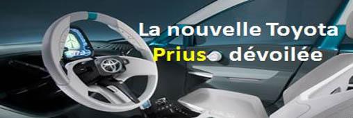 Toyota dévoile la nouvelle Prius