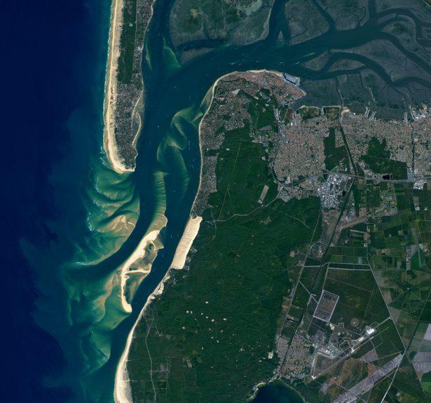 satellites, Dune du Pyla