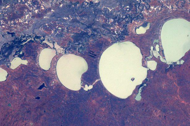 satellite, Menindee Lakes