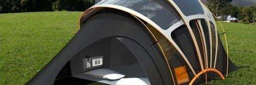 Innovation : une tente photovoltaïque pour campeurs écolo