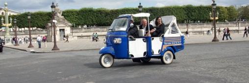 Visitez Paris en Tuk Tuk ou vélo-taxi!