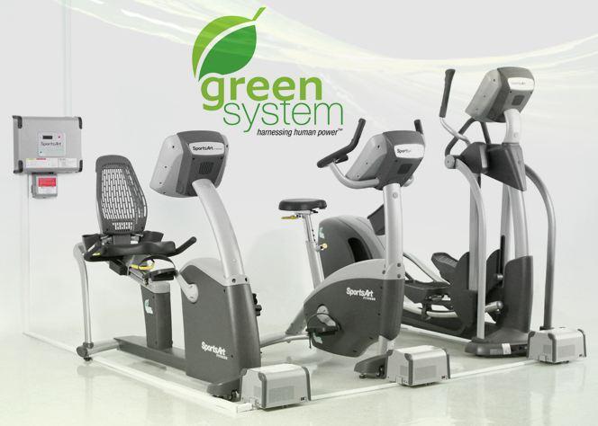 Green system la salle de sport verte de demain - Velo couche salle de sport ...
