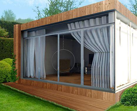 envie de calme achetez vous un bureau de jardin cologique. Black Bedroom Furniture Sets. Home Design Ideas