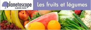 statistiques fruits et légumes