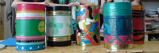 Talacatak, quand les déchets jouent de la musique