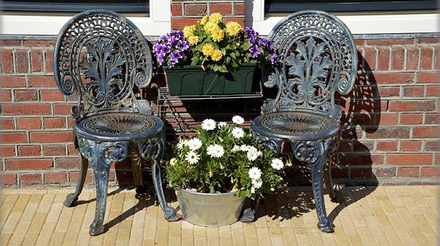 Astuces pour nettoyer du mobilier de jardin page 2 Meuble jardin metal